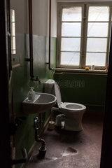 Berlin  Deutschland  Toilette in einem Industriegebaeude in der Wilhelminenhofstrasse in Berlin-Oberschoeneweide