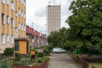Stettin  Polen  Wohnsiedlung unterschiedlicher Epochen