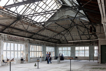 Berlin  Deutschland  Atelier in der Spreehoefen in der Wilhelminenhofstrasse in Berlin-Oberschoeneweide