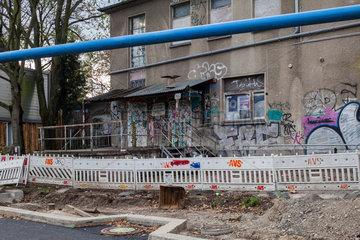 Berlin  Deutschland  Club about blank am Markgrafendamm in Berlin-Friedrichshain