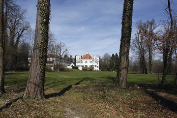 ehemalige Sissy Schloss in Possenhofen