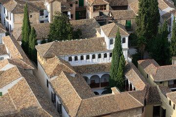 Altstadt in Granada