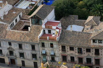 Dachterrasse in Granada