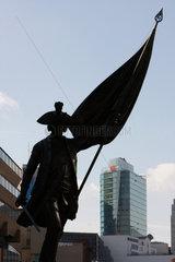 Kurt Christoph Graf von Schwerin Statue