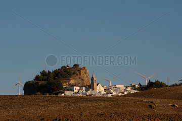 Windraeder in Andalusien