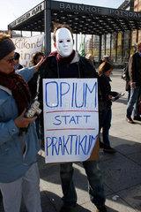 Opium statt Praktikum