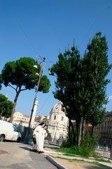 Zwei Nonne im Rom