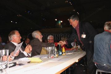 Hermann Scheer auf der SPD Wahlparteitag.