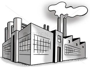 Fabrik Logo Grafik Serie
