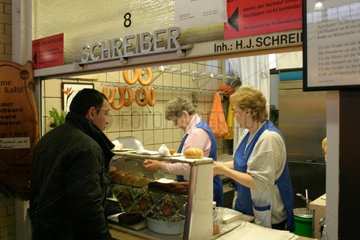 Kleinemarkthalle in Frankfurt am Main
