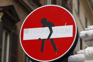 Durchgangsverbot