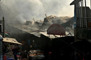 BANGLADESH-DHAKA-MARKET-FIRE