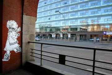 laufend Papier Street art