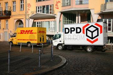 DHL und DPD