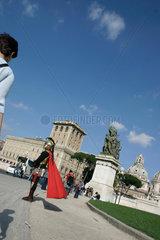 Roemische Zenturie auf dem Piazza Venezia
