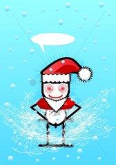 ST. Nikolaus Weihnachten Winter Schneefall