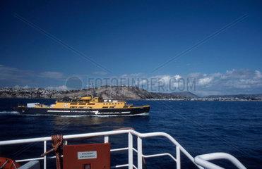 Ferryboat nach Procida