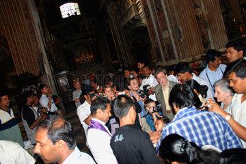 Neapel Chiesa del Gesu nuovo Taufe