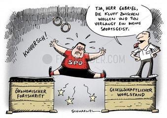 Fortschritt Wohlstand SPD Gabriel