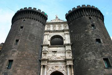 Italy  Naples Maschio Angioino
