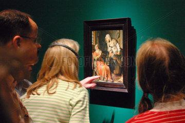 Berlin. Rembrandt Ausstellung in der Gemaeldegalerie
