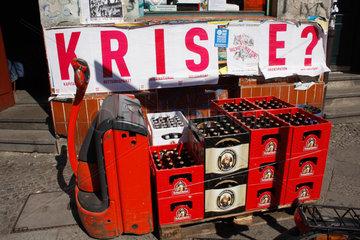 Krise und Bier