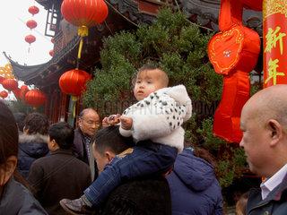 Kind im Shangai