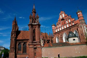 Ensemble der St.-Annen-Kirche und der Bernhardiner-Kirche