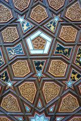 Tuer der Moschee am Columbiadamm