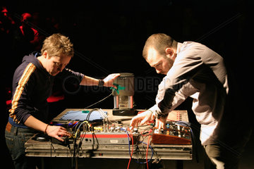 Club Transmediale 2009 - Performance von Minibloc