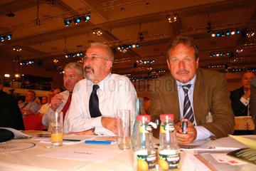 Gewerkschafter beim SPD Parteitag