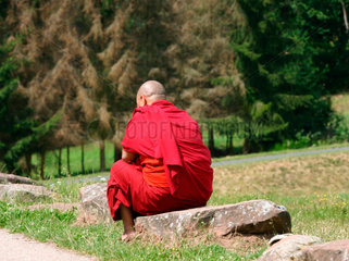 Buddhistisch Moench