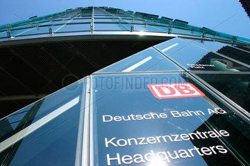 Deutsche Bahn AG  Konzernzentrale am Potsdamer Platz