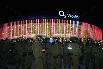O2-World Eroeffnungs Demonstration.
