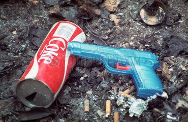 coke and water gun