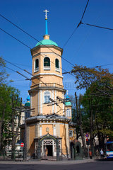 Lettland/Latvia/Riga. Turm eine orthodoxe Kirche in Riga