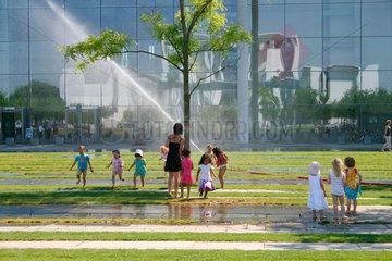 Erfrischung am Bundestag