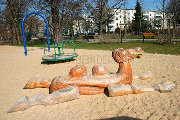 Berlin - Kinderspielplatz.