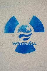 Vattenfall und Radioaktivitaet