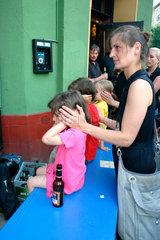 Berlin - Kinder bei der Fete de la Musique 2006