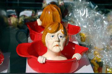 Angela Merkel als Zitronenpressen-Souvenir