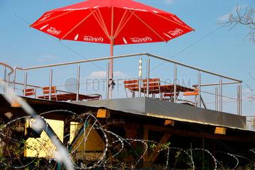 Cocacola Sonnenschirm