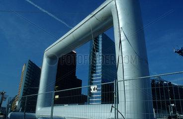 Potsdamer Platz  Ansicht der Hochhaeuser