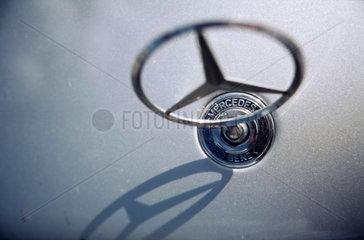 Nahaufnahme eine Mercedes-Benz