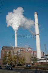 Berlin Vattenfall Kohlekraftwerk