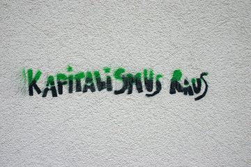 Schwarz Gruen Kapitalismus