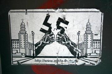 Antifa street art
