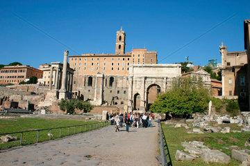 Rome. Foro Romanus