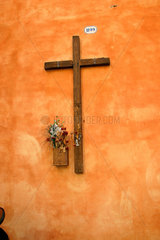 wood crucifix in Rome