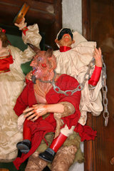 Naples Via San Gregorio Armeno handwork of nativity figure